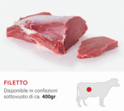 FILETTO  PIEMONTESE 300g ca - SALUMERIA FEA